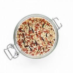 Trio de riz - complet, rouge, sauvage