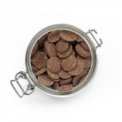 Palets de chocolat au lait 34%