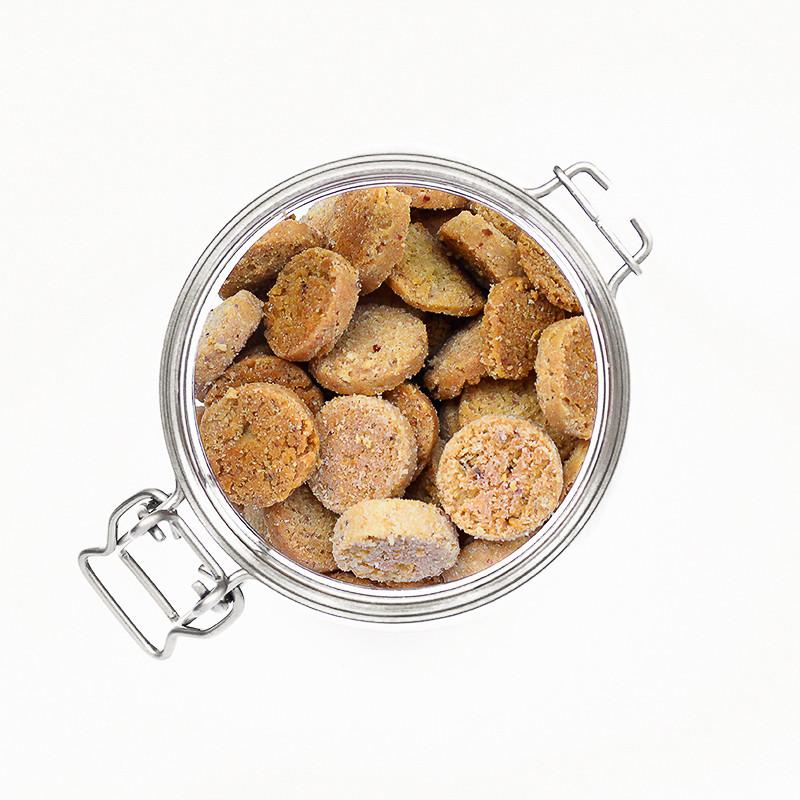Biscuits apéro sans gluten oignon cajou