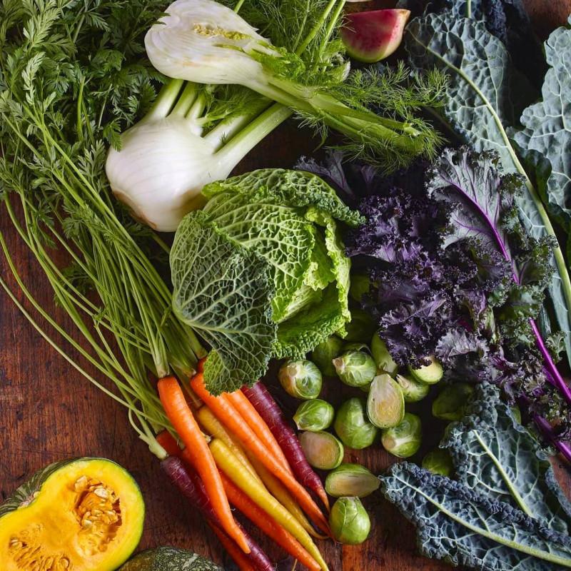 Cagette de légumes bio et locaux