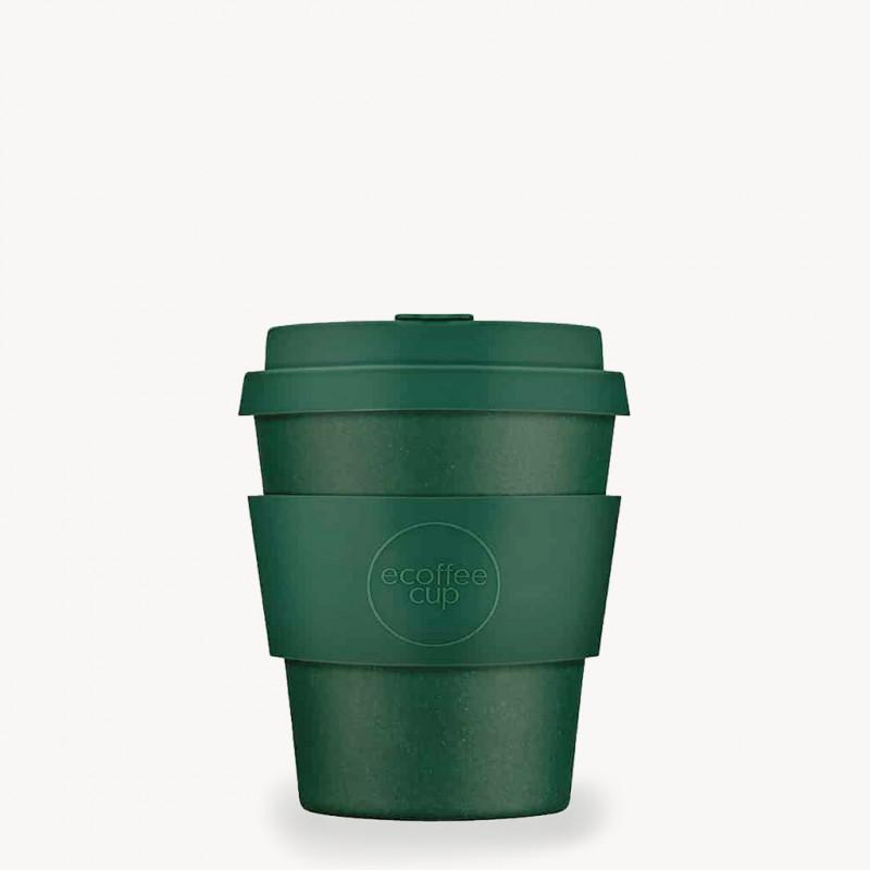 Mug en bambou réutilisable 25 cl   Ecofee Cup - vert forêt