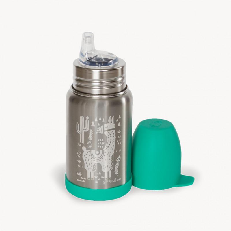 Biberon inox 350 ml Sippy| Gaspajoe