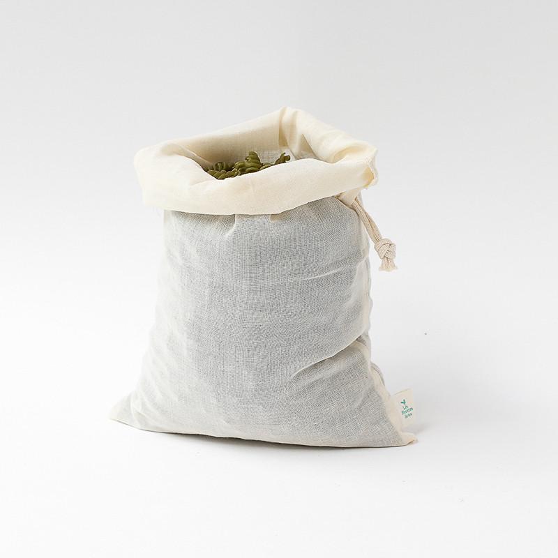 Grand sac à vrac 30x20 cm - coton bio